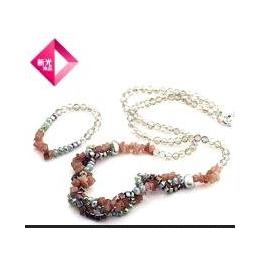 新光饰品 DIY系列 水晶魔盒之 普罗旺斯の花海水晶套装 项链手缩略图