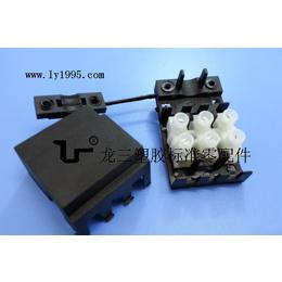 供应东莞龙三015单压快速接线端子盒绝缘环保材质