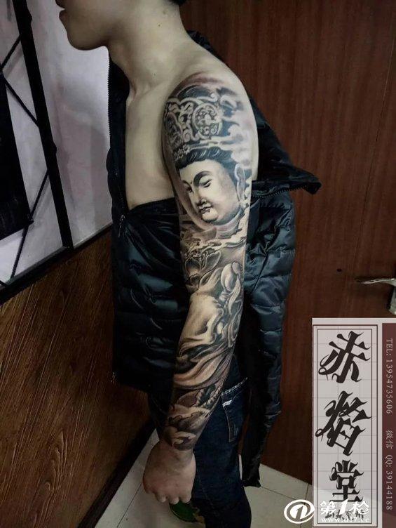 曹操纹身图案 辟邪纹身图案