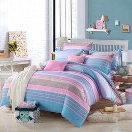 彩翼家纺纯棉双人四件套被子床上用品厂家直销供货