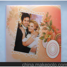 相册 12寸3D婚纱影集 新奇特DIY相册3D10R80102 原厂直销