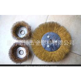 供应125碗型钢丝轮,厂家直销 抛光轮 抛光磨料 碗型钢丝轮