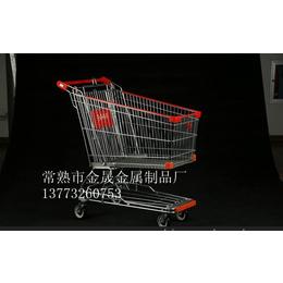 超市购物车 亚式 日式手推车 带包边 新型 亚式购物车 150L