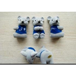 植绒PVC卡通老鼠小玩具 出口日本原单 外贸库存 小额批发混批