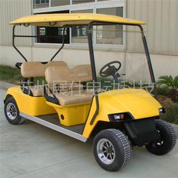 浙江杭州四座高尔夫球车 景区游览车 小区物业代步车