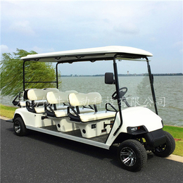 厂家直销8座电动高尔夫球车-游乐园代步观光车-四轮看房车