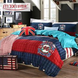 好梦来家纺床单四件套1.5m1.8m床笠全棉四件套床笠床罩