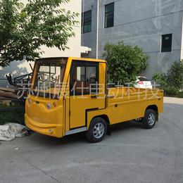 湖州丽水四轮电动小货车 运输载货车  平板搬运四轮电瓶车