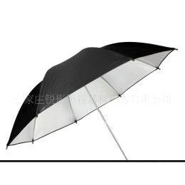 供应摄影用高亮度反光伞外黑内银