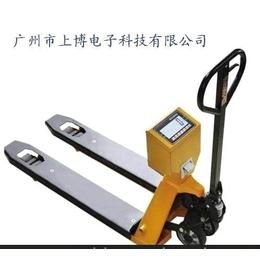 白云带秤叉车%手推2吨带秤叉车%计重型3吨电子称叉车