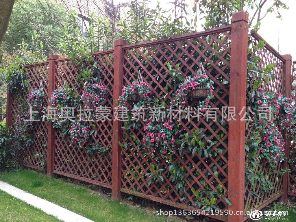 木格栅/木篱笆