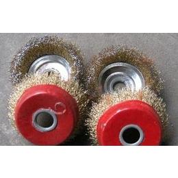 优质红碗加大碗型钢丝轮,平行钢丝轮 厂家批发