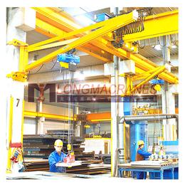 上海龙马起重BX-1型壁柱式旋臂起重机定制哪家好
