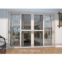 3D木纹断桥铝门窗