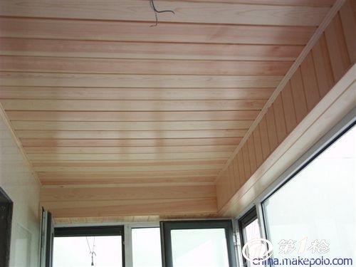 桑拿板也可用在卫生间吊顶 用,安装好后需要油漆才能防水防腐.