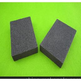 供应OEM各种海绵磨块 黑色海绵磨块