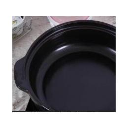 潮州厂家直销电磁炉专用耐高温砂锅养生节能闷烧炖煮粥药膳陶瓷锅