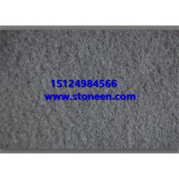 供应中国黑蒙古黑石材喷砂面 打砂面