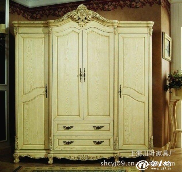 欧式对开门衣柜图片