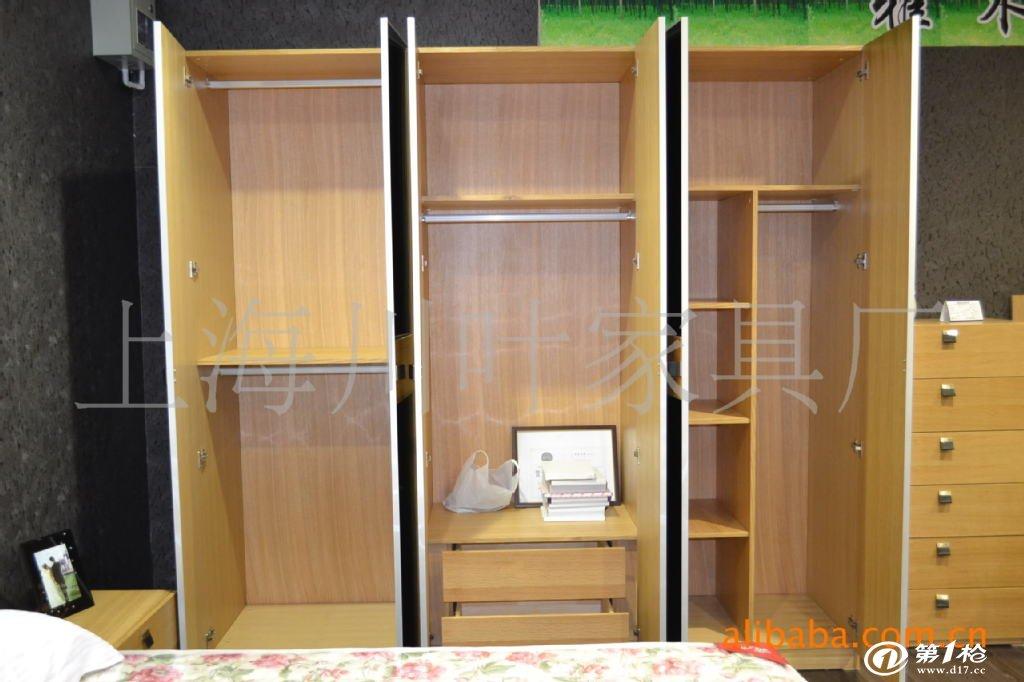 热销 特价 白橡木家具 北欧风格 6门衣柜 衣帽间b01