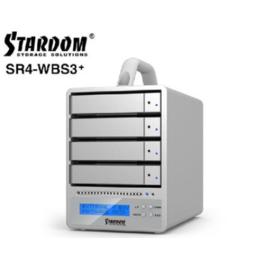 星腾SR4-WBS3+高清阵列 自带RAID0或5 24TB