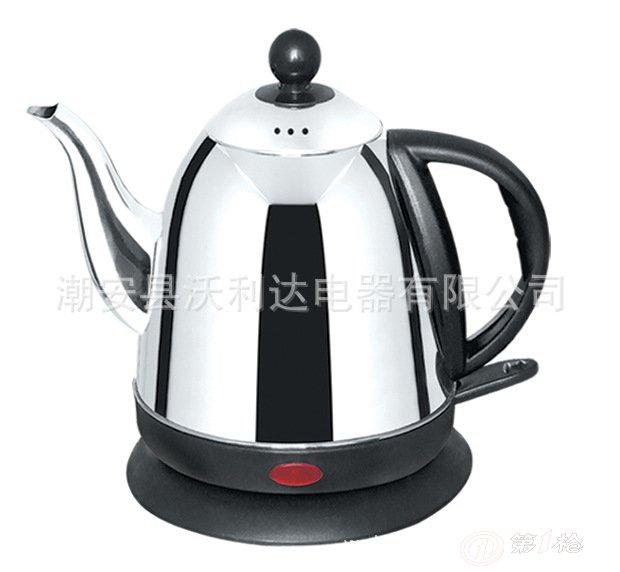 c-014不锈钢电热壶 长嘴壶 快速壶 烧水壶