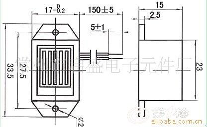 5v机械蜂鸣器~有源驱鼠蜂鸣器