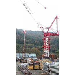 动臂塔机的特点国内大型动臂内爬塔机生产制造出口商