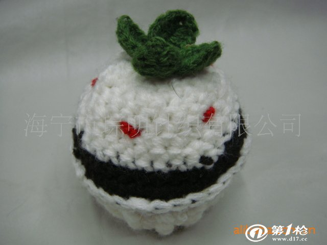 供应编织精美装饰球,球形针垫 纯手工制作
