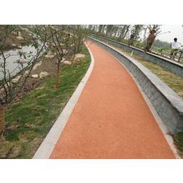 呼和浩特彩色地坪厂家 生态透水地坪材料 妙用透水混凝土的好处