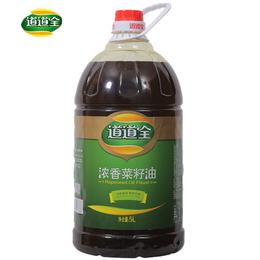 道道全浓香菜籽油   5L
