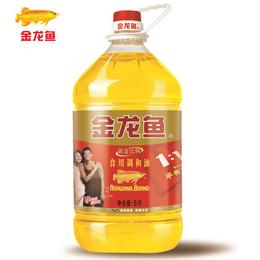 金龙鱼黄金比例食用调和油   5L
