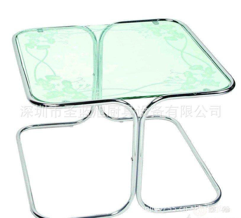 优质不锈钢餐桌椅 欧式时尚摇椅 不锈钢小桌子