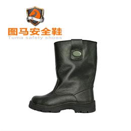 防护靴欧标牛皮耐磨耐油耐酸碱TM9003