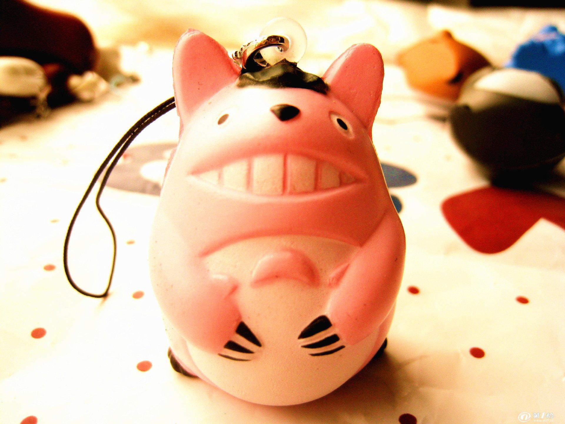 日本宫崎骏经典动画人物 龙猫公仔 手机挂件 包包饰品 格子店货源