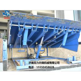 济南双力固定式登车桥载重12吨厂家直销固定登车桥升降台