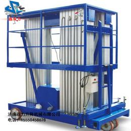 铝合金移动式升降平台三柱12米报价