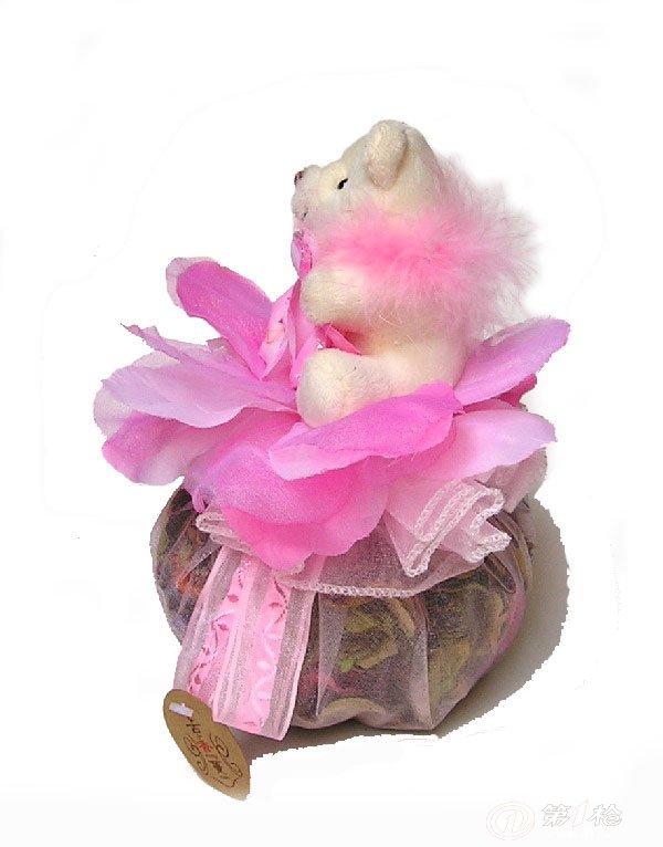 厂家直销】t-2粉红圆型动物大香包,汽车香包,香薰,香包