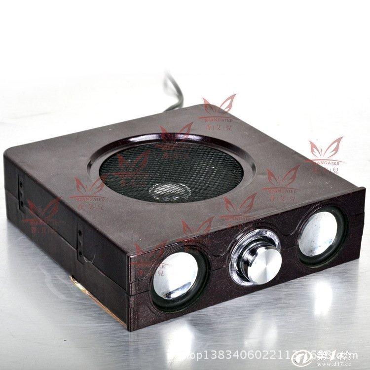 台式电脑光驱位功放音箱 低音炮功放音响 迷你电脑小音箱