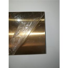 浙江厂家直销茶色不锈钢板拉丝钛金茶色不锈钢装饰板