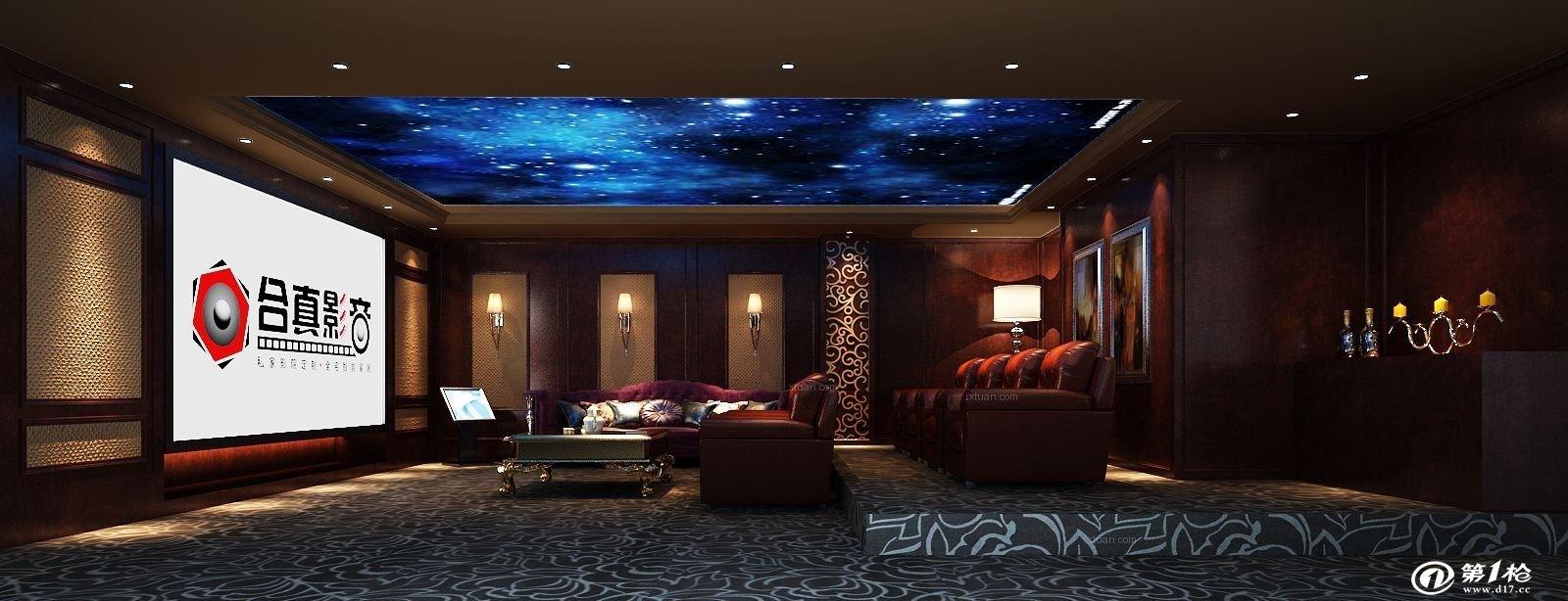 别墅装修中私人影院一般多少钱