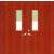 消防木质隔热防火双开门缩略图1