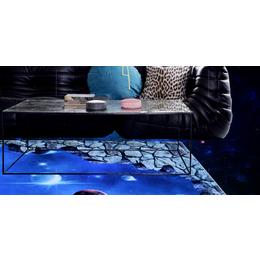 南昌地毯代理 简约现代长方形3D星空 客厅地毯