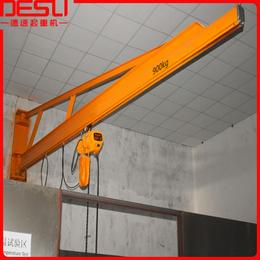 厂家直销1000kg墙壁式悬臂吊KBK旋臂吊手动墙壁式起重机