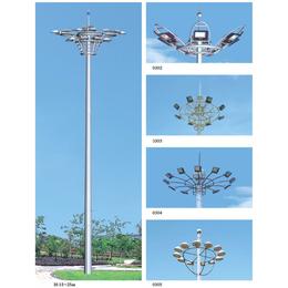 甘肃兰州高杆灯厂家高杆灯金卤灯路灯带升降公园商业广场高杆灯