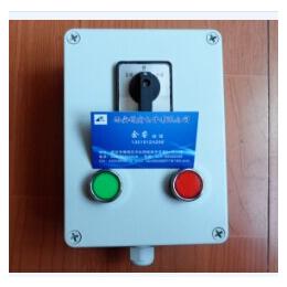 机旁按钮盒ADAH-X2DZ 带灯带转换开关按钮盒厂家直销