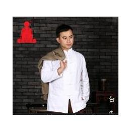 空空元素棉麻禅衣中式男装唐装禅修打坐居士服中国风盘扣长袖衬衫
