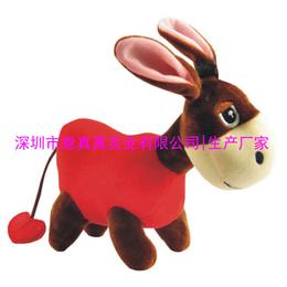 深圳毛绒玩具厂家定做毛绒玩具驴 品牌定制驴友最爱个性定制