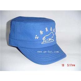深圳冠王帽业厂家生产军帽布帽帽子