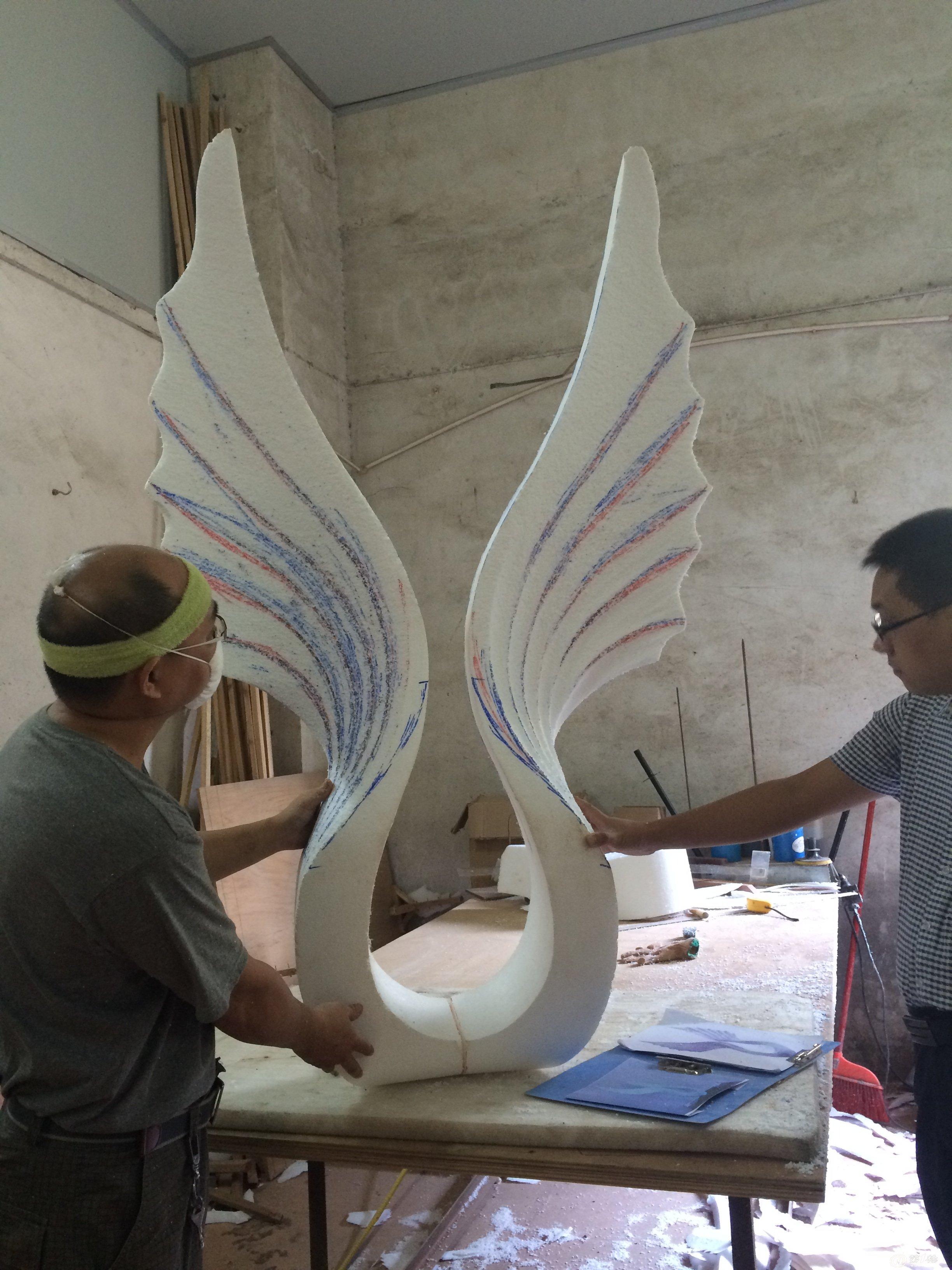 丹东不锈钢雕塑-抚顺雕塑厂家可定做